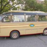 Korsisaaren museobussi vuodelta 1962.
